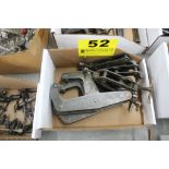 (5) ASSORTED KANT-TWIST CLAMPS IN BOX