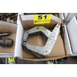 (2) KANT-TWIST MODEL 6D 421 CLAMPS IN BOX