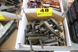 ASSORTED CLAMPS IN BOX