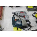 (2) ASSORTED ELECTRIC DRILLS