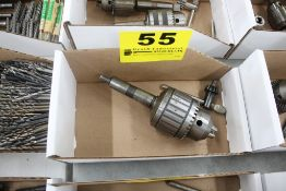 "JACOBS NO. 18N 1/8"" - 3/4"" DRILL CHUCK & KEY"