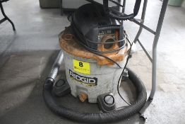RIDGID 5 HP 12 GALLON WET/DRY VACUUM