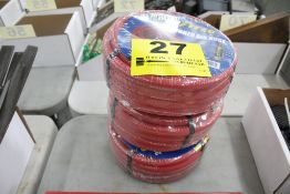 "(3) GOODYEAR 25' X 3/8"" PNEUMATIC HOSES (NEW)"