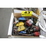 ASSORTED HEX KEYS & HOLE SAWS IN BOX
