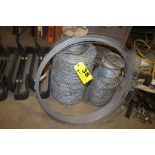 ROLL OF BARBED WIRE & MISC. WIRE