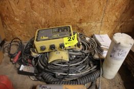 TOPCON UHF DUAL ANTENNA 3D GPS MACHINE CONTROL, WITH ASSORTED CABLES, ETC.