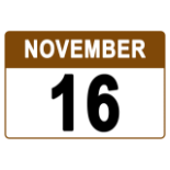 Pickup / Removal Starts Monday, November 16