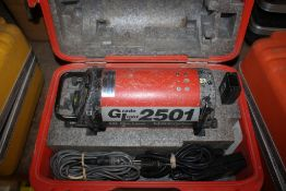 GRADE LIGHT MODEL 2501 AGL PIPE LASER IN CASE