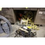 SAFETY HARNESS, LANYARD & ROPE