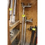 (2) GRADE POLES WITH MOUNT
