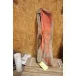 LARGE QTY OF WOOD STAKES WITH CARRYING BAG