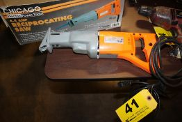CHICAGO ELECTRIC POWER TOOLS MODEL 04095 4. AMP RECIRPROCATING SAW