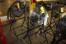 """DAYTON MODEL 2LY93 18"""" AIR CIRCULATOR WITH PORTABLE STAND"""