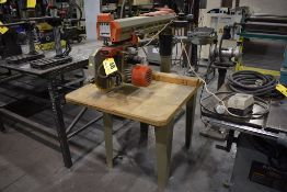 "OMGA MODEL RN450 12"" RADIAL ARM SAW, 17-3/4"" CROSSCUT CAPACITY, 26-3/4"" RIP CAPACITY, 230V"