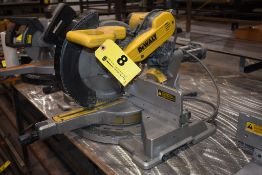 "DEWALT MODEL DWS709 12"" DOUBLE BEVEL SLIDING COMPOUND MITRE SAW"
