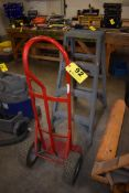 TWO WHEEL DOLLY & 4' FIBERGLASS STEP LADDER