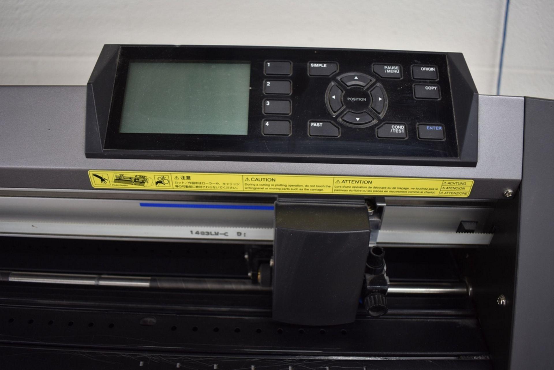 "GRAPHTEC MODEL CE6000-120 VINYL CUTTER 48"" CAPACITY - Image 4 of 4"