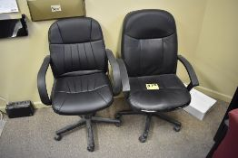 (2) EXECUTIVE CHAIRS