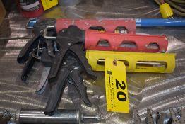 (5) ASSORTED CAULK GUNS