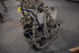 GRACO TEXSPRAY GTX2000 EX AIR POWERED TEXTURE SPRAYER, WITH HUSKY 1040 PUMP