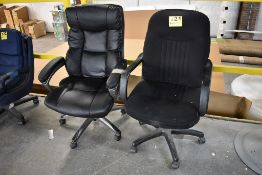 (2) EXECUTIVE OFFICE CHAIRS