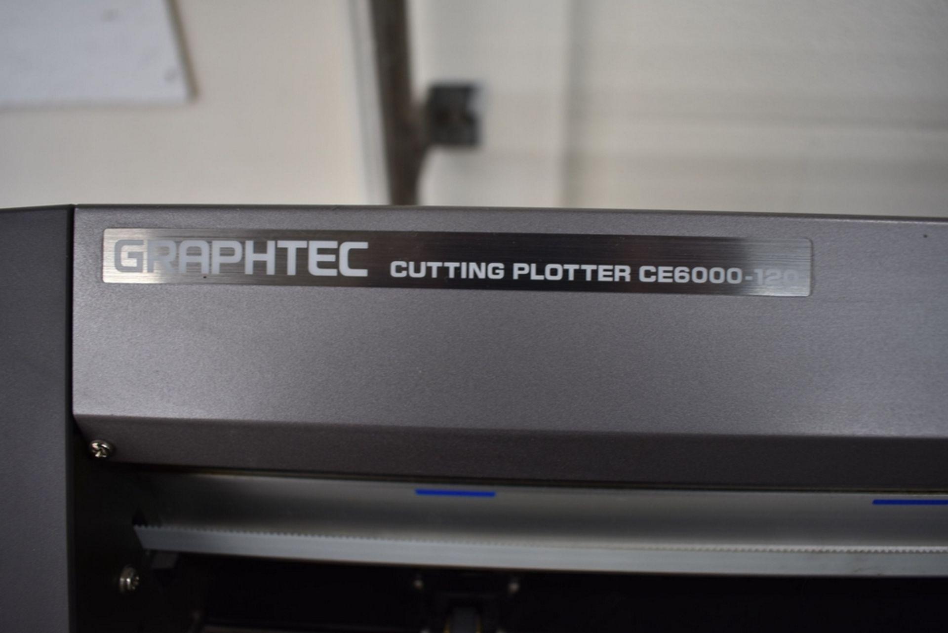 "GRAPHTEC MODEL CE6000-120 VINYL CUTTER 48"" CAPACITY - Image 3 of 4"