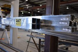 LARGE QTY OF ALUMINUM STOCK, SQUARE & CHANNEL