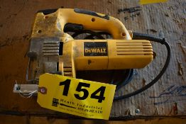 DEWALT MODEL DW321 VARIABLE SPEED JIG SAW