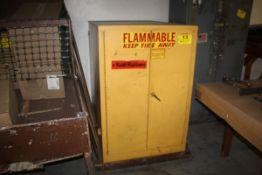 """SE-CUR-ALL FLAMMABLE LIQUID STORAGE CABINET, 50 X 34"""" X 50"""""""