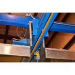 """Dry-Off Oven: 78.5 x 105.5"""" Openings; 28 Ft. Interior Length holds (2) 12 Ft. Trolleys; Gas fired"""