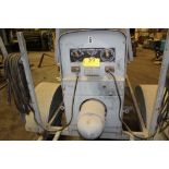 Lincoln Arc welder SA200, sn 378989, gas power, on trailer.