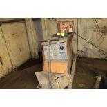 Airco welder CV-250, sn 1346707, w/wire feed, on steel cart.