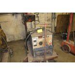 Miller welder MP30E, sn NA, boom wire feed, on cart.