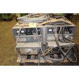 (1) Lincoln welder DC 600, sn Fac550764. (1) AC welder sn 683698.