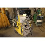 ESAB welder VI300, sn ME-1813021, wire feed.