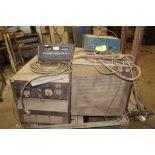 (2) Hobart welders Mega-mig 300RVS, sn NA.