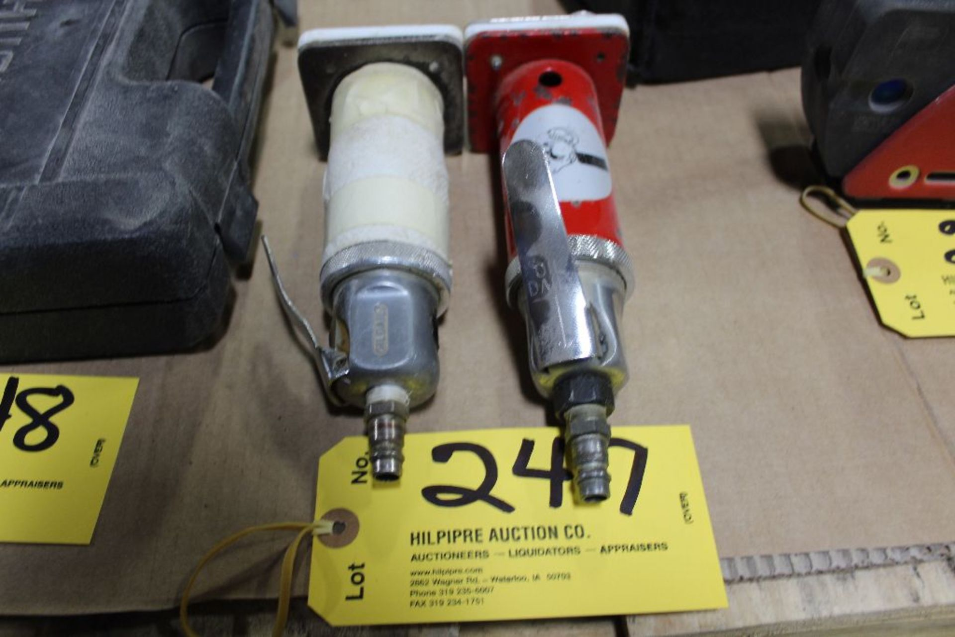 Lot 247 - Bever pnuematic trimmers.