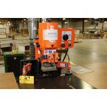 2014 Blum mini press hinge machine, sn JJ01606.