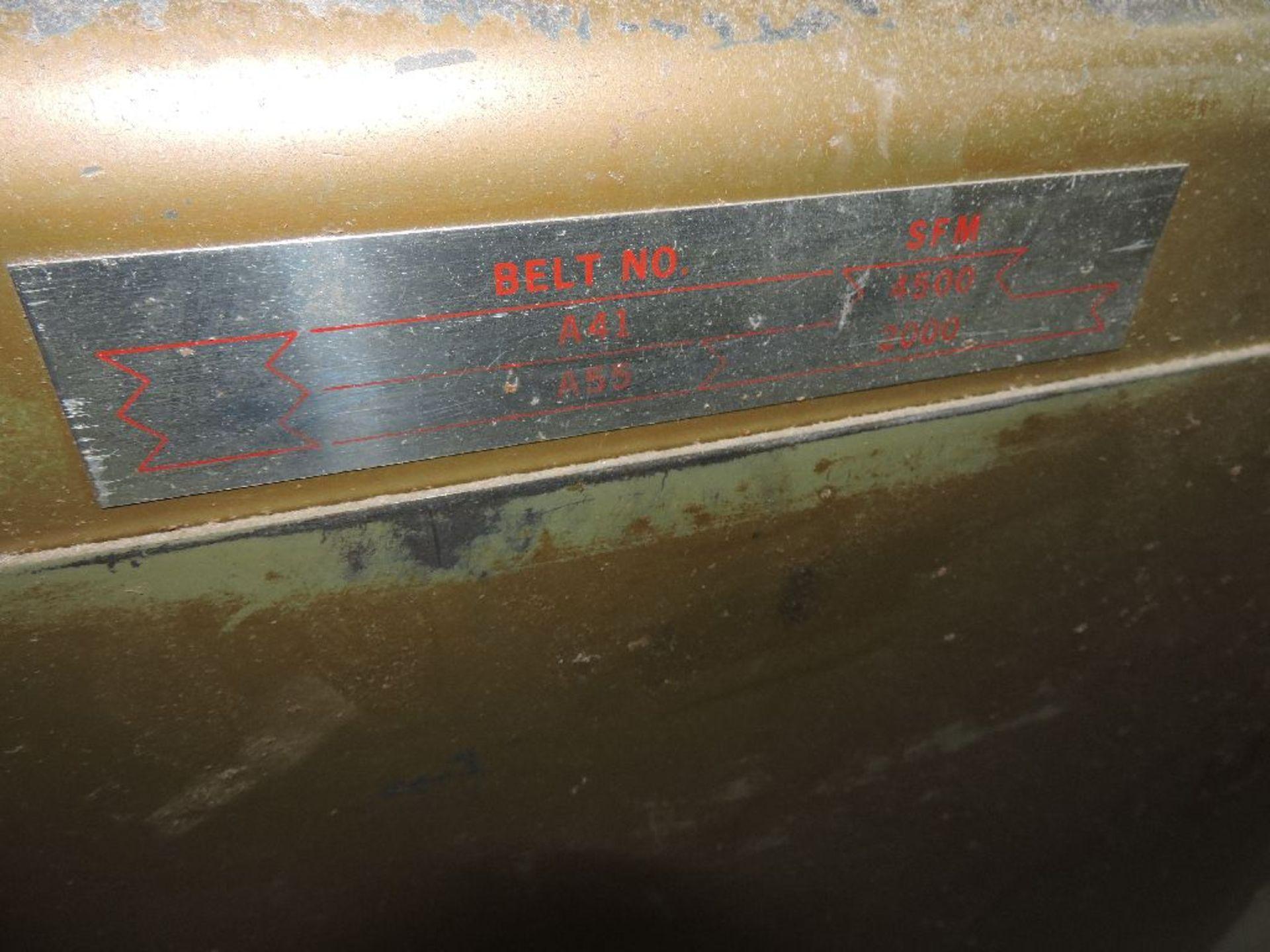 "Lot 025 - Powermatic bandsaw, model 81, sn 9481049, 20"", voltage 230/460."