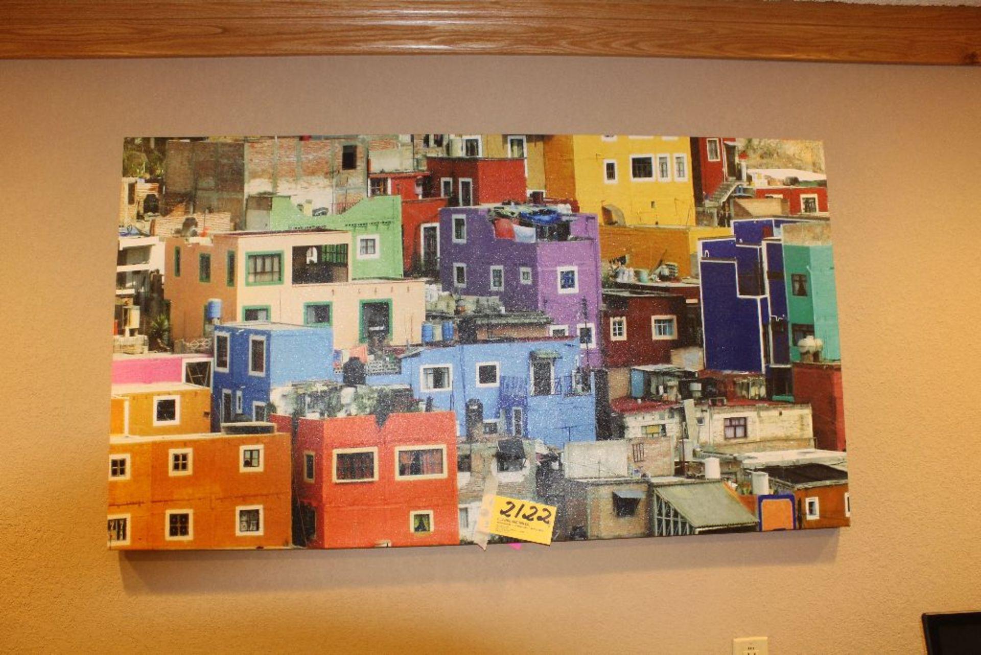 "Lot 2122 - Apartment picture, 54"" x 30""."