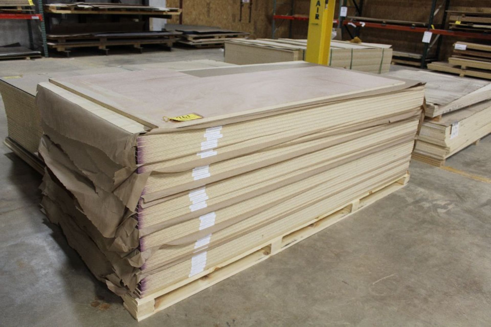 "Lot 761 - Lumber, plywood A-4 Pine PS plain, 3/4"" x 48"" x 96""."