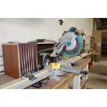 Makita DTX mitre saw, w/10'Best Fence table.