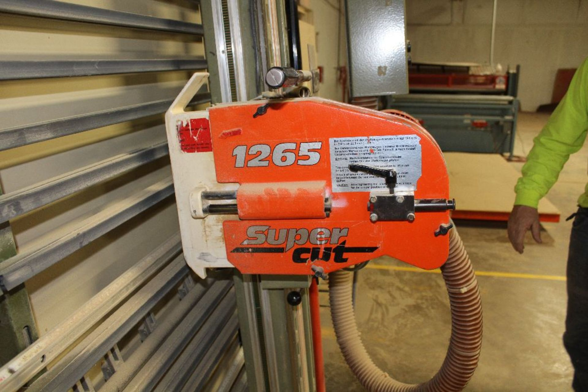 Lot 012 - Holzher panel saw, model 1265, sn 4.651, Super Cut, 3 hp.