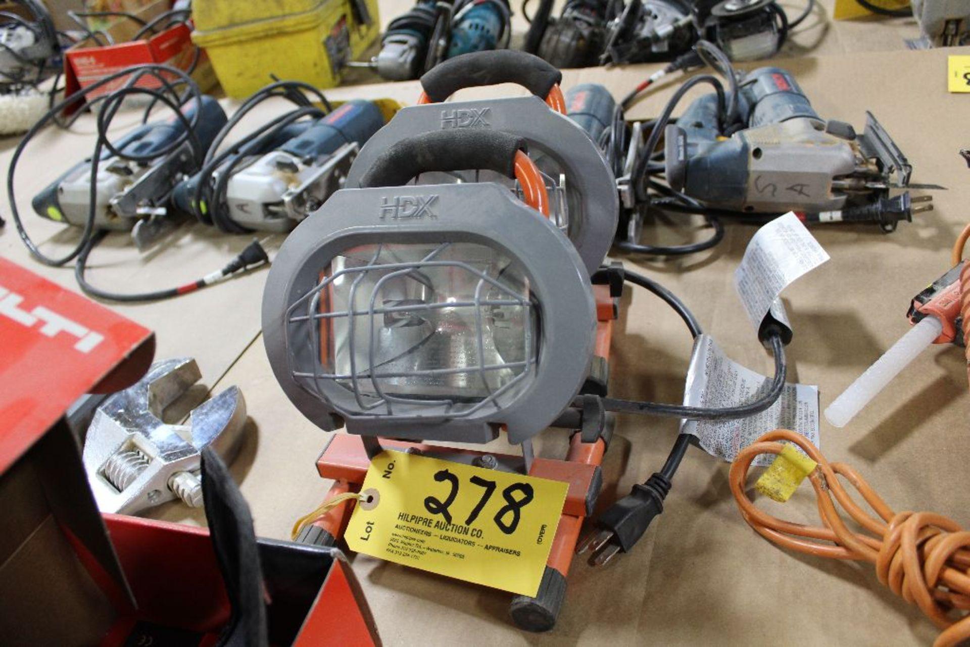 Lot 278 - HDS work lights (2).
