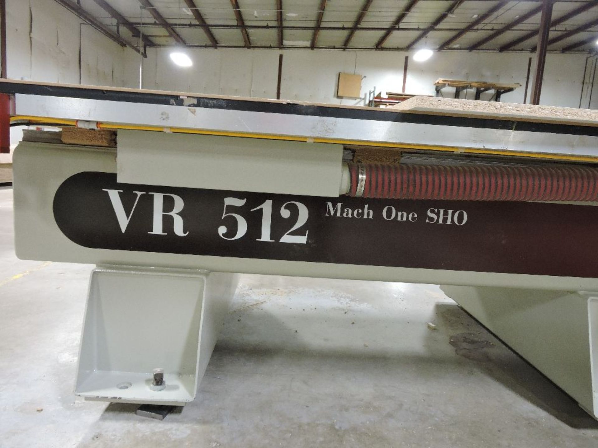 Lot 010 - 2006 Komo CNC router, model VR512, sn 57103-06, hrs. on CNC router 4,857, 5'x 12' table, 9
