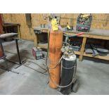 Acetylene welder and cart.