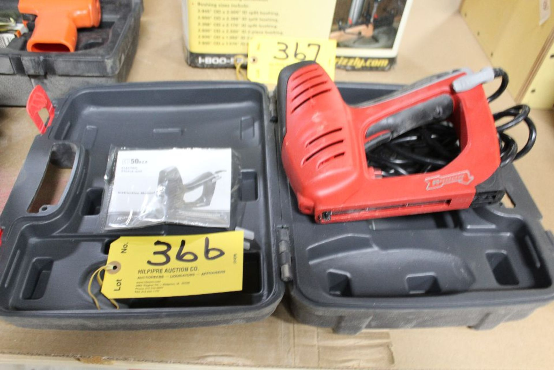 Lot 366 - Arrow electric stapler