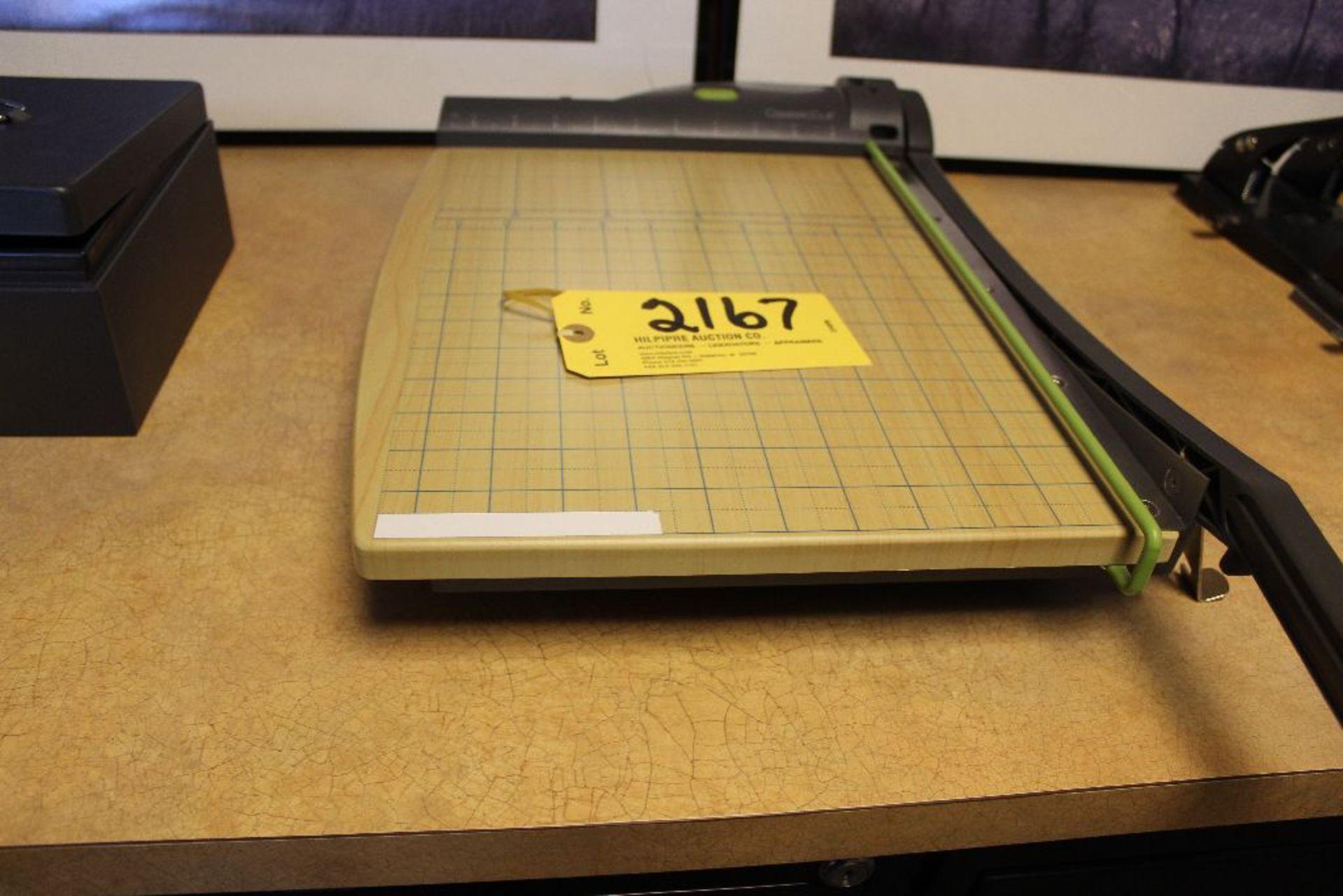 "Lot 2167 - Swingline paper cutter, 11"" x 15"" paper size."