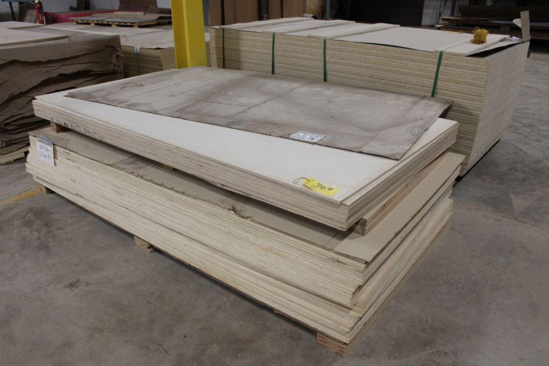 "Lot 764 - Lumber, (37) plywood Baltic birch, 1/2"" x 49"" x 97""."