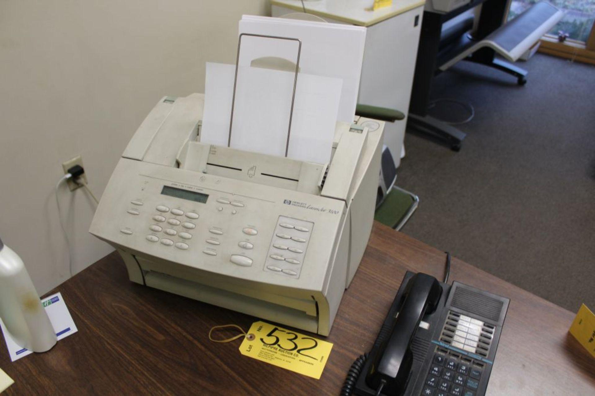 Lot 532 - H.P LaserJet 3100 printer.